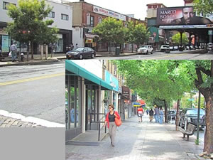 upper ditmars shopping district