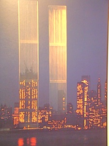 twin towers world trade center photo