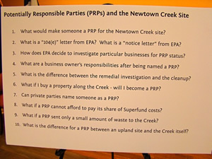 potentially responsible parties newtown creek pollution