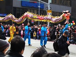 chinese new year parade flushing photos