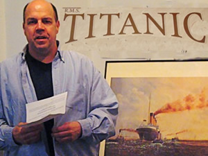 titanic exhibit at the greater astoria historical society