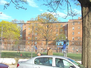 public housing complex near bryant high school in queens