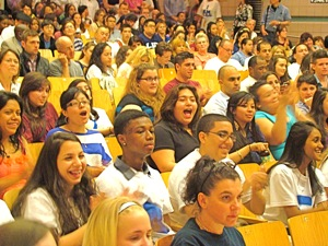 lic closing high school rally april 2012
