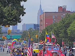 columbian parades in nyc queens jackson heights