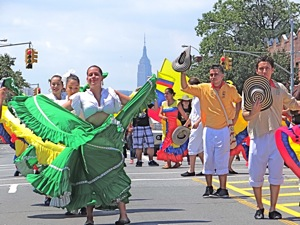 columbian parade jackson heights queens nyc