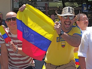 columbian indpendence day jackson heights