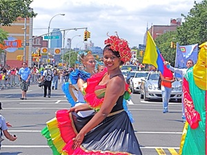 colombianos en queens 2012