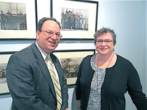 ellen kodadek executive & artistic director photo barry grodenchik queens deputy borough president photo