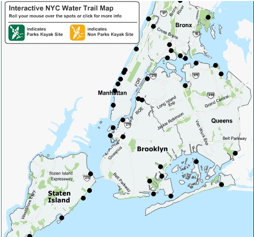 nyc water trails map