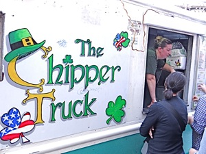 chipper food trucks in queens