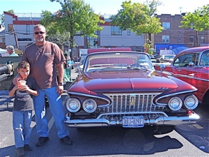 1961 plymouth belvedere antique auto show in maspeth queens