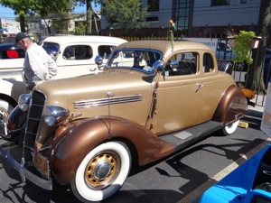 1936 Ford Coupe & 1934 Buick Club Sedan