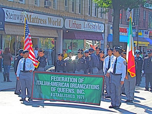 columbus day parade in queens astoria ny