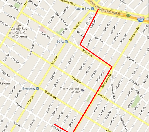 astoria columbus day parade route & times astoria