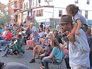 louis armstrong house block party