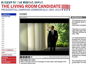 living room candidate museum of the moving image political advertising archive