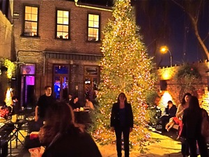 holiday tree lighting in lic