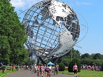 unisphere in flushing meadow corona park queens