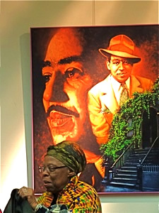 langston hughes literary landmark in corona