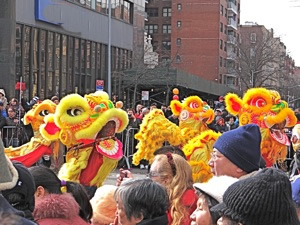 chinese new year parade in queens