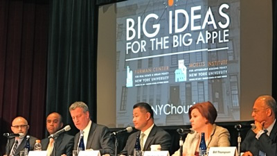 nyc mayoral candidates forum