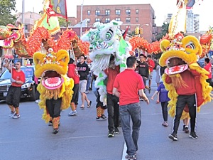 moon parade in flushing queens