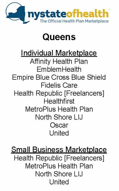 affordable healthcare act in queens