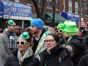 st pats day in queens photos 2014