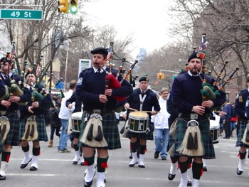 st pats parade sunnyside woodside queens nyc