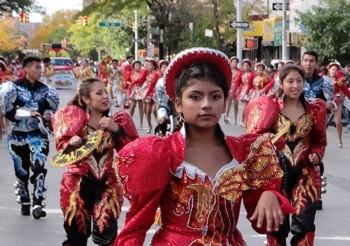 bolivian parade jackson heights nyc
