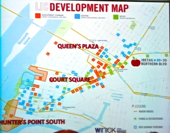 real estate development lic queens development map