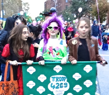 jackson heights halloween parade photos