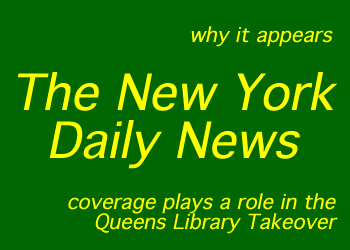 daily news coverage of queens library thomas galante