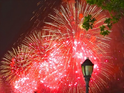 four freedoms park fireworks