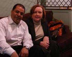 magdi ahmed and his wife