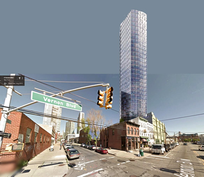 paragon paint building photos sketches plans lic long island city