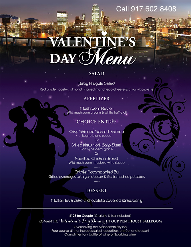 valentines day restaurants specials queens