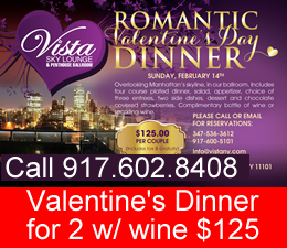 valentines day restaurants in queens