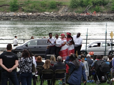 braata caribbean singers astoria park summer performances