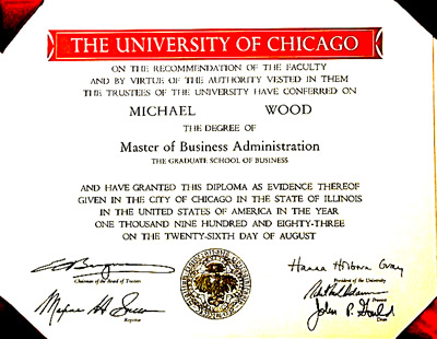 u chicago degree