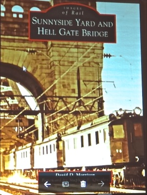 hell gate bridge dave morrisons book sunnyside yard arcadia publishing