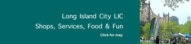LIC shops long island city shopping lic special offers sales LIC long island city queens nyc