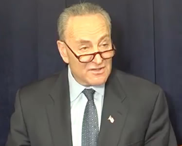 u.s. senator chuck schumer ny photo