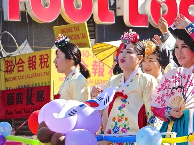 chinese new year parade photos flushing queens nyc