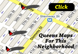 Jackson Heights Map / Elmhurst Neighborhood Map / Things To Do In Jackson Heights Queens | A map of cultural and entertainment organizations and neighborhood attractions such as the Lent Riker Homestead and Victor Moore Terminal in Jackson Heights Queens NY