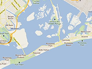 The Rockaways In Queens - Map | rockaways peninsula queens ny rockaways map history neighborhoods queens ny