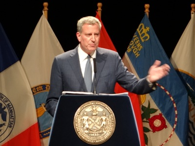 Mayor de Blasio's State of the City Address 2016 NYC | mayor bill de blasio's state of the city address 2016 state of nyc speech 2016 de blasio