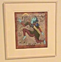 Contemporary Indian Art Of The Diaspora - Queens Museum Of Art / Flushing NY | Review Indian Arts Of The Diaspora Art Exhibit Queens Museum Of Art Flushing Meadows Corona Park Flushing / Corona neighborhoods Queens NY art exhibit forty Indian emigrant artists delve express influences multi-cultural lives wine receptions art exhibits fun things to do Queens Museum Of Art Flushing Meadows Corona Park Queens NY