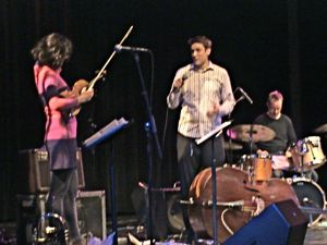 LaGuardia Performing Arts Center - LIC Long Island City - Ben Allison | Ben Allison and his band performed LaGuardia Performing Arts Center Long Island City neighborhood Queens NY live music entertainment live jazz events things to do Long Island City Sunnyside Astoria sections Queens NY